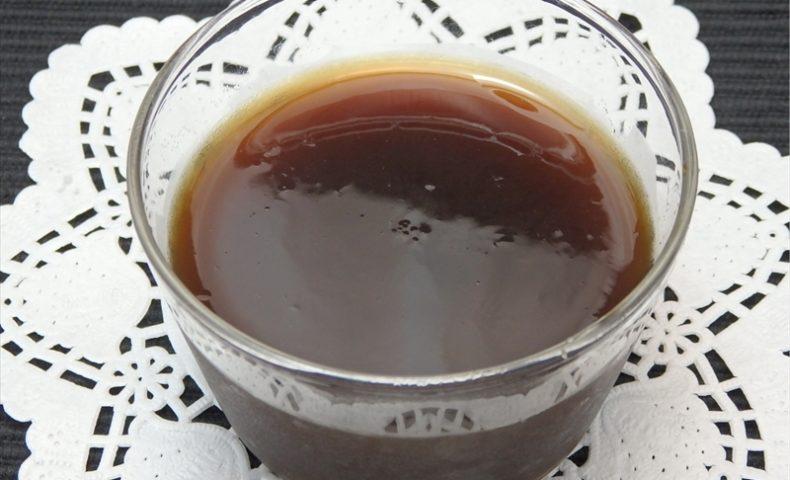 インスタントコーヒー寒天