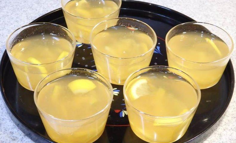 レモン寒天