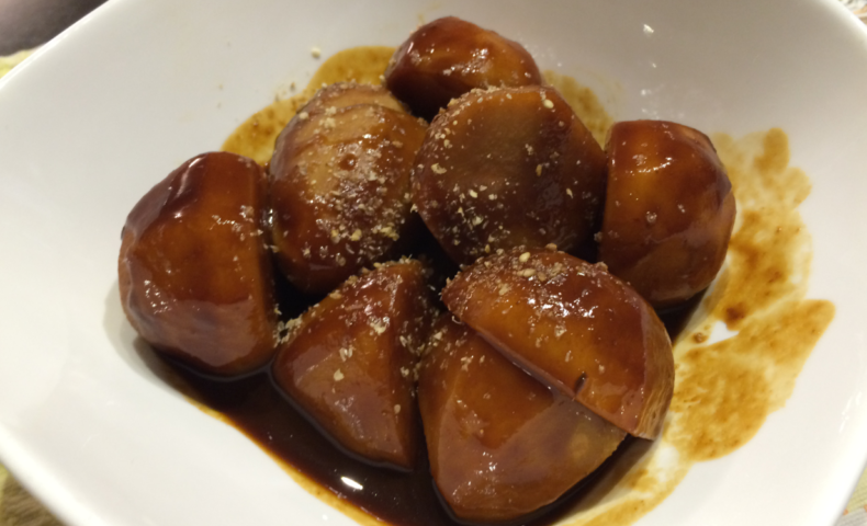 里芋の味噌煮