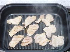 豚肉の焼き肉スチームグリル