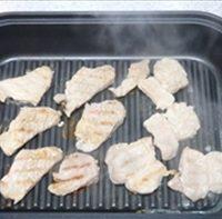 スチームグリルで作る豚肉料理