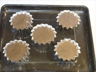 菜種油チョコレートカップケーキ
