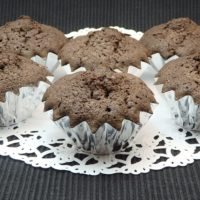 チョコレートカップケーキ