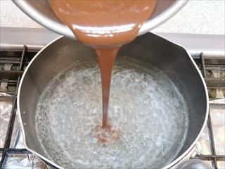 チョコレート寒天
