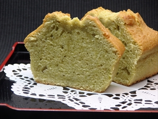 抹茶バターパウンドケーキ