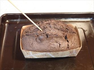 チョコレートバターパウンドケーキ