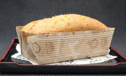 かぼちゃのバターパウンドケーキ