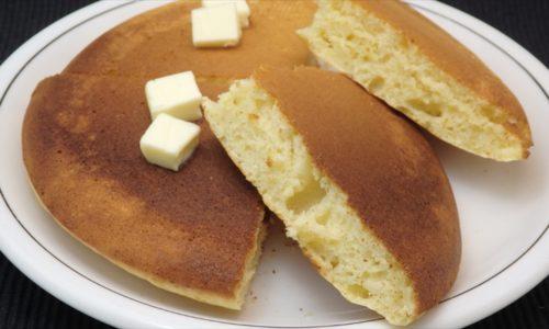 オーブンで焼くホットケーキ
