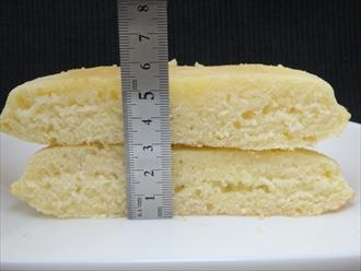 ニトリのスキレットで焼くホットケーキ