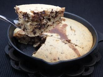 チョコレートホットケーキ(チョコレートパンケーキ)