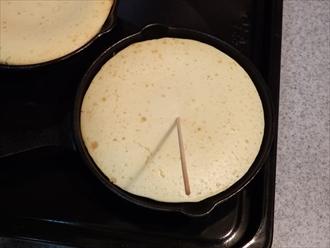 ホワイトチョコチップパンケーキ