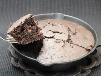 チョコレートホットケーキ