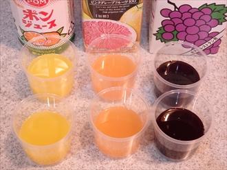 果汁100%ジュースゼリー